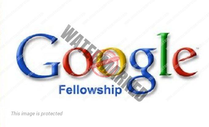 Google PhD Fellowship Program Mainland China