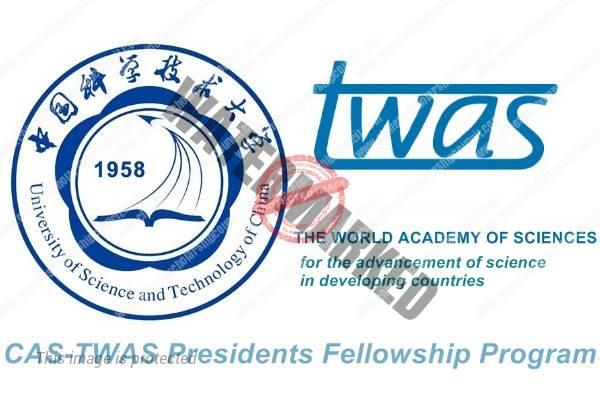 CAS-TWAS President's PhD Fellowship Programme