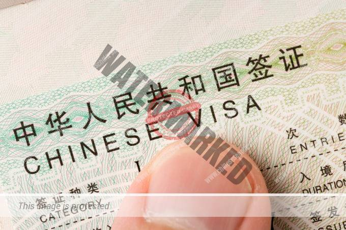 Documents Require for China VISA
