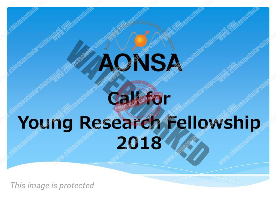 AONSA Young Research Fellowship, 2019 Scholarship Positions 2018 2019