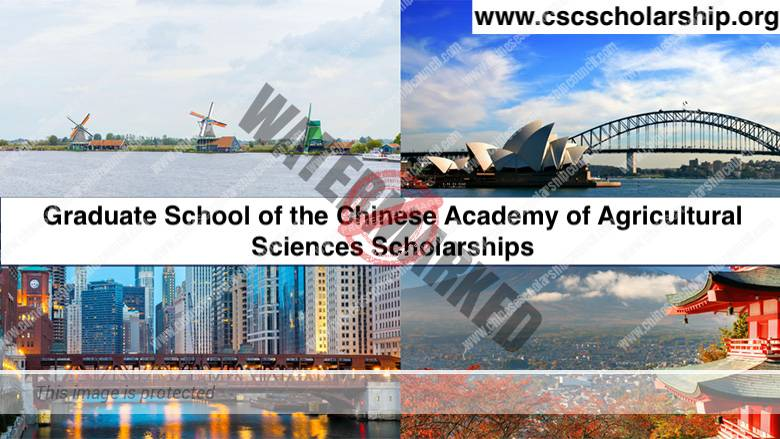 Graduate School of the Chinese Academy of Agricultural Sciences Scholarships