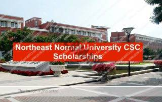 Northeast Normal University CSC Scholarships