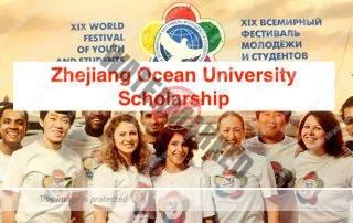 Zhejiang Ocean University CSC Scholarship