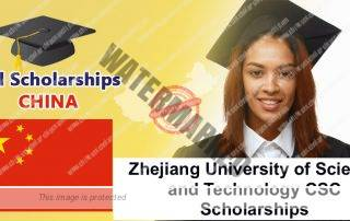 Zhejiang University of Science and Technology CSC Scholarships