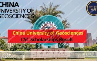 China University of Geosciences CSC Scholarships Result announced 2019