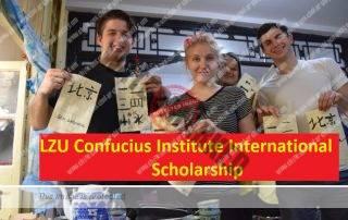 LZU Confucius Institute International Scholarship